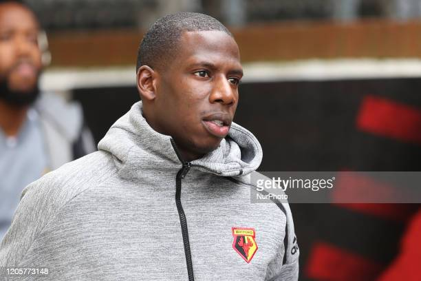 Abdoulaye Doucoure of Watford during the Premier League match between Crystal Palace and Watford at Selhurst Park London on Saturday 7th March 2020