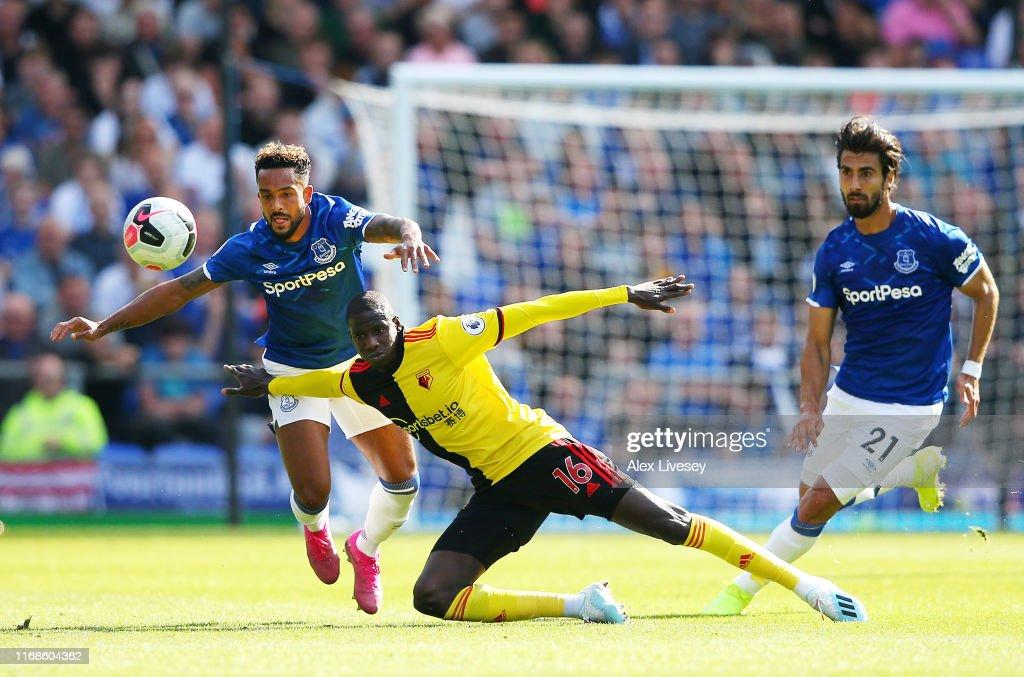 Everton FC v Watford FC - Premier League : Fotografía de noticias