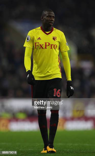 Abdoulaye Doucoure of Watford in action during the Premier League match between Burnley and Watford at Turf Moor on December 9 2017 in Burnley England