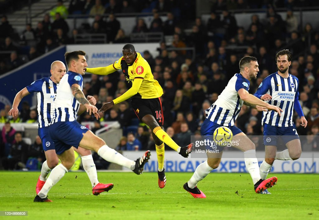 Brighton & Hove Albion v Watford FC - Premier League : ニュース写真