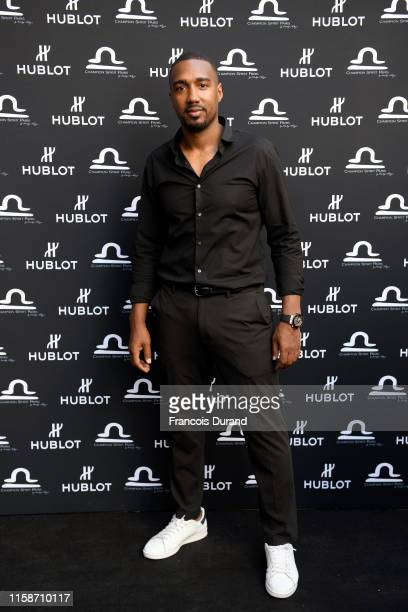 Abdoulaye Fadiga attends the launch of Hublot x Champion Spirit on June 27 2019 in Paris France