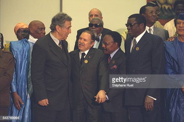 Abdoulaye Wade Ahmed Ben Bella Abdelaziz Bouteflika Omar Bongo Gnassingbe Eyadema