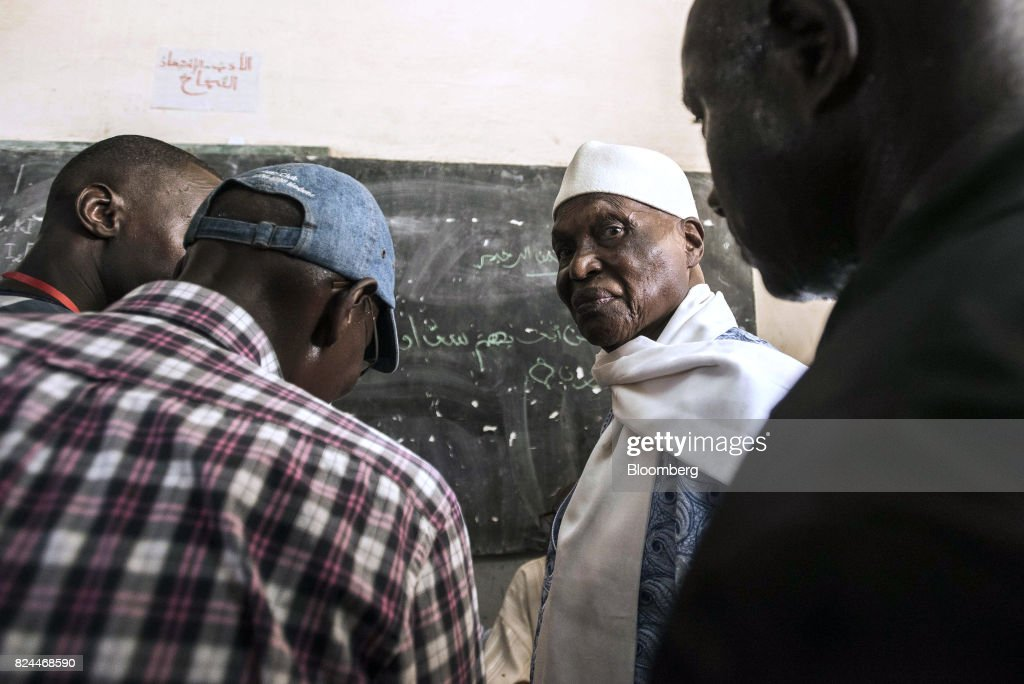 Voters Head To The Polls In Senegalese Parliamentary Elections