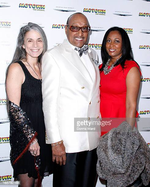 """Abdul """"Duke"""" Fakir of the Four Tops attends """"Motown: The Musical"""" Motown Family Night at Lunt-Fontanne Theatre on April 5, 2013 in New York City."""