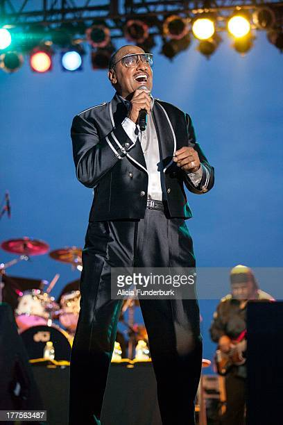 Abdul Duke Fakir of the Four Tops performs during the 2013 Biltmore Concert Series at the Biltmore on August 23 2013 in Asheville North Carolina