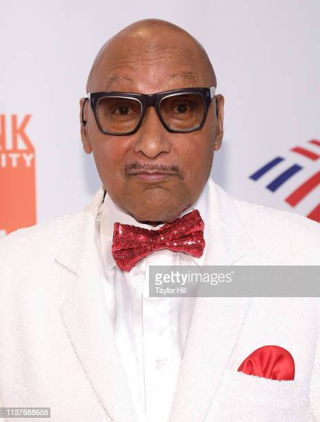 Abdul Fakir of The Four Tops attends the 2019 Food Bank For New York City CanDo Awards at Cipriani Wall Street on April 16 2019 in New York City