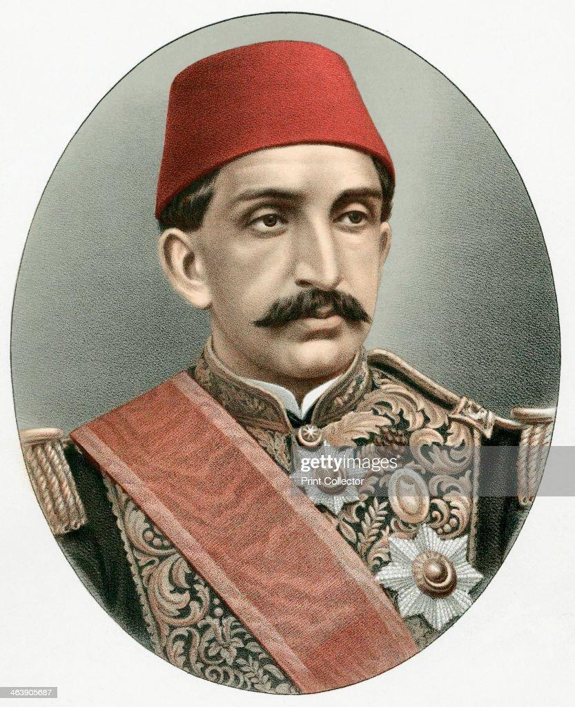 Abdul Hamid II (1842-1918), last Sultan of Turkey, c1880. : News Photo