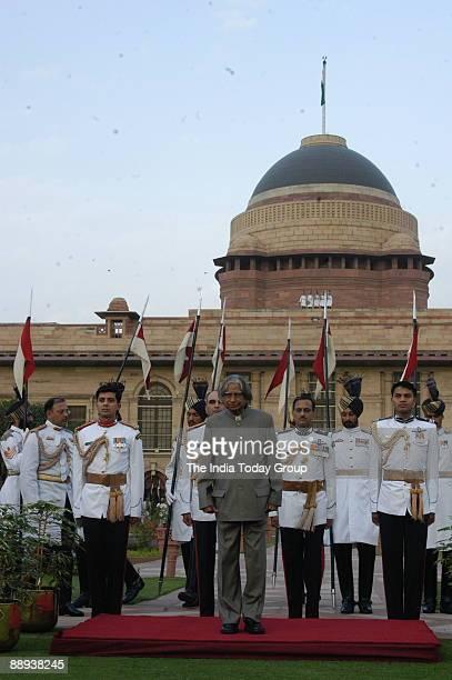 Abdul Kalam President of India at Rashtrapati Bhawan in New Delhi India