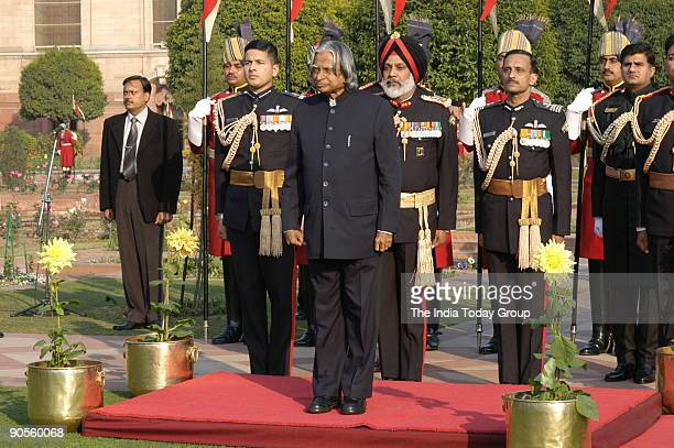 Abdul Kalam President of India at the Republic Day of India Rashtrapati Bhawan in New Delhi India