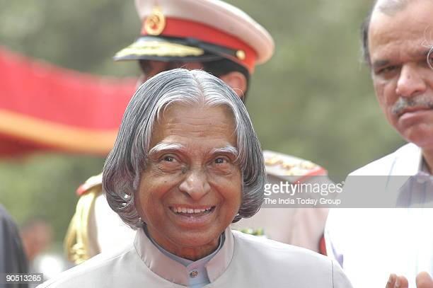 Abdul Kalam President of India in New Delhi India