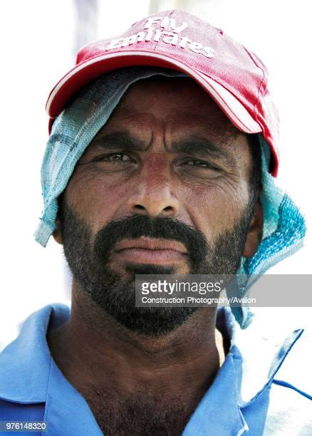 Abdul Khaliq a construction worker talks with an ITP reporter on Sheikh Zayed road Dubai United Arab Emirates July 3 2005