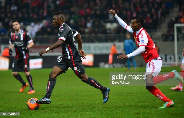 Abdul Majeed WARIS Reims / Valenciennes 27eme journee de Ligue 1 Photo Dave Winter / Icon Sport