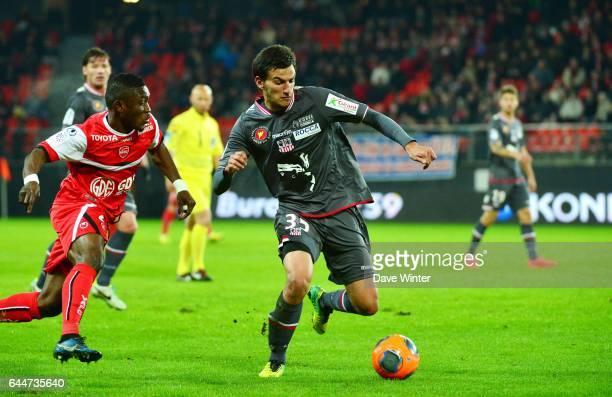 Abdul Majeed WARIS / Mickael LECA Valenciennes / Ajaccio 30e journee Ligue 1 Photo Dave Winter / Icon Sport