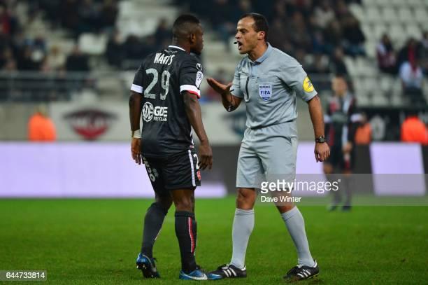Abdul Majeed WARIS / Said ENNJIMI Reims / Valenciennes 27eme journee de Ligue 1 Photo Dave Winter / Icon Sport