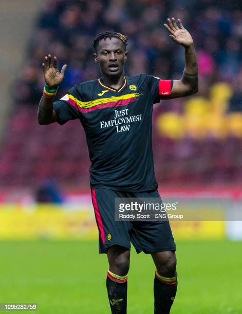 Abdul Osman in action for Partick Thistle