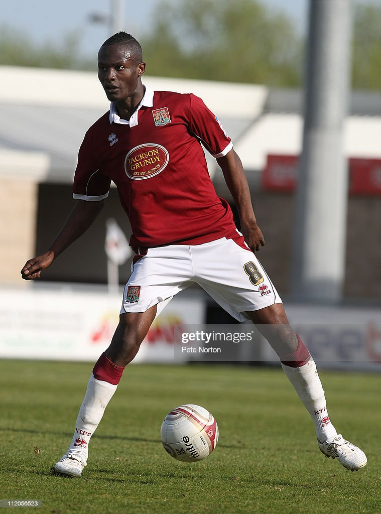 Abdul Osman of Northampton Town in action during the npower League Two League match between Northampton Town and Bury at Sixfields Stadium on April 9, 2011 in Northampton, England.