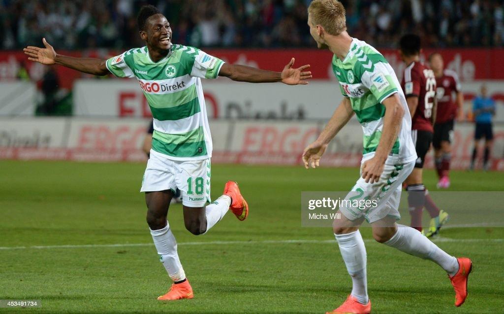 Greuther Fuerth v 1. FC Nuernberg - 2. Bundesliga : News Photo