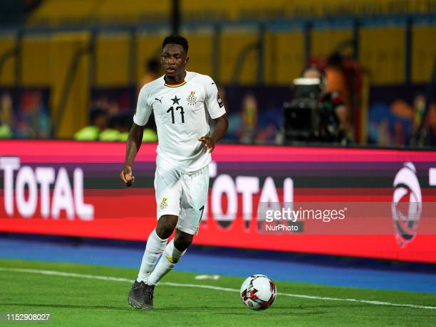 Abdul Rahman Baba of Ghana during the 2019 African Cup of Nations match between Benin and Guinea-Bissau at the Ismailia stadium in Ismailia, Egypt on...