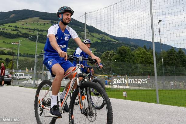 Abdul Rahman Baba of Schalke looks on during the Training Camp of FC Schalke 04 on July 29 2017 in Mittersill Austria