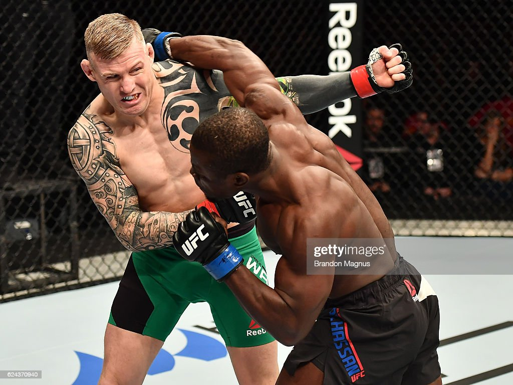 UFC Fight Night: Ward v Alhassan : News Photo