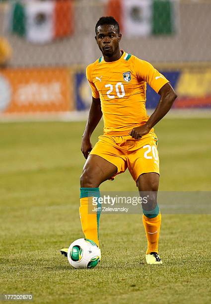 Abdul Razak of Ivory Coast plays against Mexico during their match at MetLife Stadium on August 14 2013 in East Rutherford New Jersey