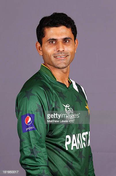 Abdul Razzaq of Pakistan pictured during a Pakistan Portrait Session ahead of the ICC T20 World Cup at the Cinnamon Grand Hotel on September 13 2012...