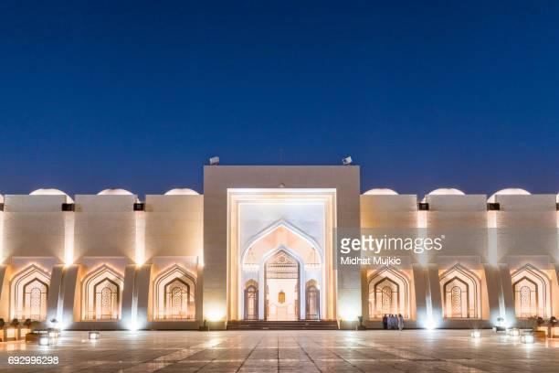 abdul wahhab mosque, doha, qatar - qatar fotografías e imágenes de stock