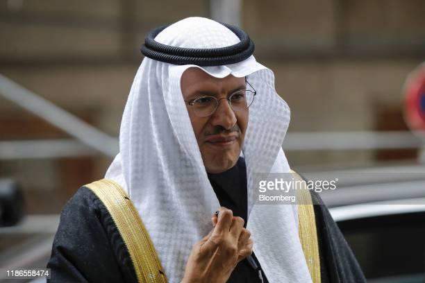 Abdulaziz bin Salman, Saudi Arabia's energy minister, arrives ahead of the 177th Organization Of Petroleum Exporting Countries meeting in Vienna,...