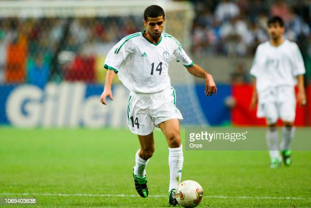 Abdulaziz KHATHRAN during the FIFA World Cup match between Cameroon and Saudi Arabia on June 6 2002 in Saitama Stadium Japan