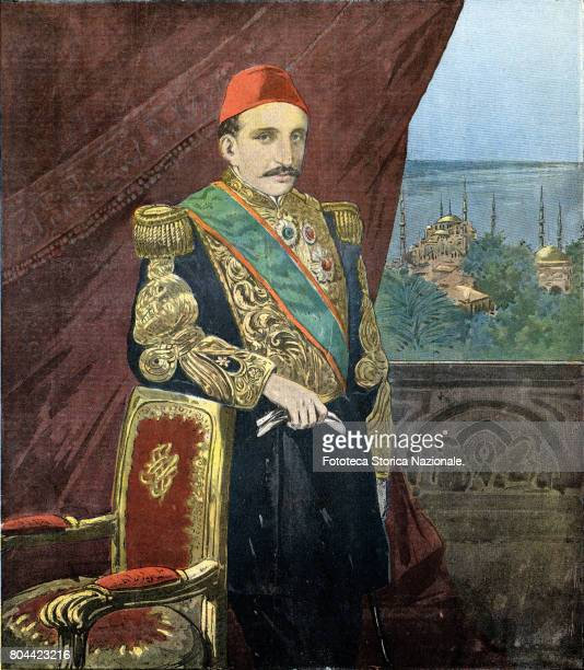 AbdulHamid II said the Bloodthirsty becomes the 34th Sultan of the Ottoman Empire from the removal of his brother Murad V August 31 1876 'The Great...