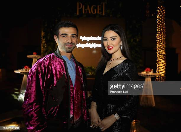 Abdulla Al Kaabi and Mayssa Maghrebi attend the Piaget celebrates Abdullah Al Kaabi's talent by hosting a private screening of his short film 'More...