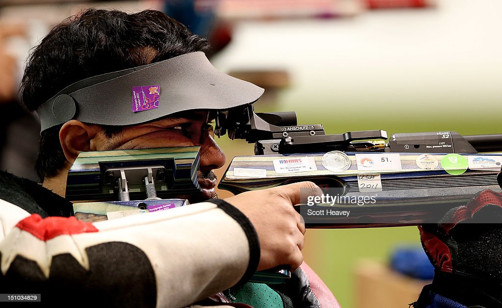 2012 London Paralympics - Day 2 - Shooting : ニュース写真