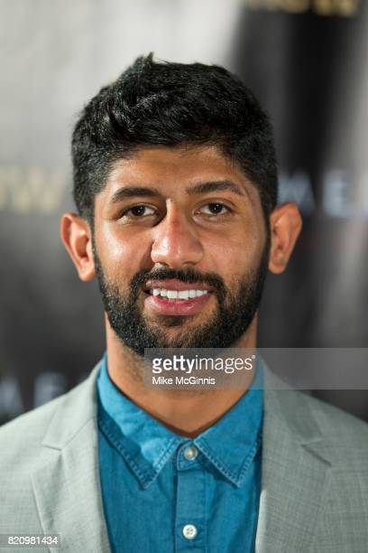 Abdullah Al Harbi attends the International SciFi Series 'Medinah' premiere and red carpet reception at ComicCon International 2017 at The Manchester...