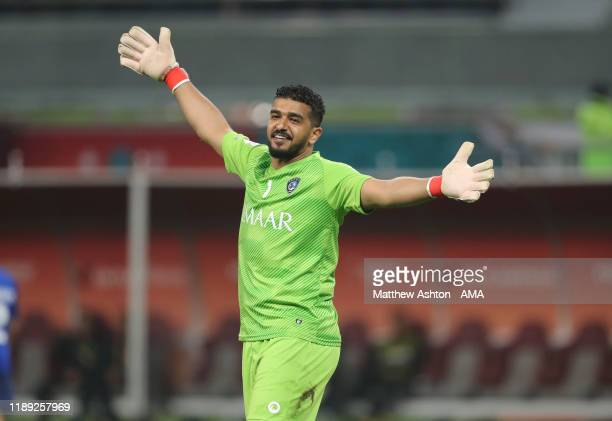 Abdullah Almuaiouf of Al Hilal during the FIFA Club World Cup Qatar 2019 Semi Final match between CR Flamengo and Al Hilal FC at Khalifa...