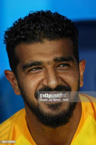 Abdullah Almuaiouf of Saudi Arabia during the 2018 FIFA World Cup Russia group A match between Saudia Arabia and Egypt at Volgograd Arena on June 25...