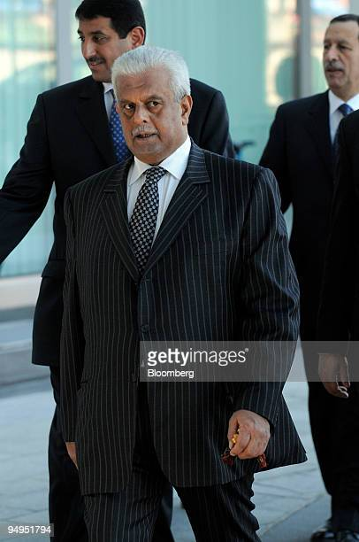 Abdullah bin Hamad alAttiyah Qatar's oil minister arrives for the 153rd Organization of Petroleum Exporting Countries meeting in Vienna Austria on...