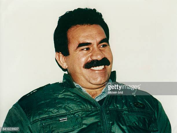 Abdullah Öcalan leader of the PKK who is waging a guerrilla war against the Turkish government from Lebanon