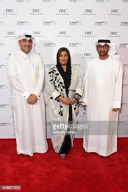 Abdullah Hassan Ahmed director and guests attend the fifth IWC Filmmaker Award gala dinner at the 13th Dubai International Film Festival during which...