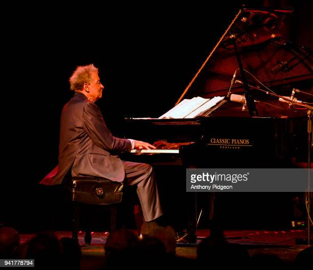 Abdullah Ibrahim and Ekaya perform on stage at Revolution Hall as part of the PDX Jazz Festival in Portland Oregon USA on 21st February 2018