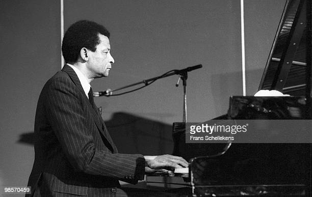 Abdullah Ibrahim performs live at Meervaart in Amsterdam, Netherlands on April 21 1985
