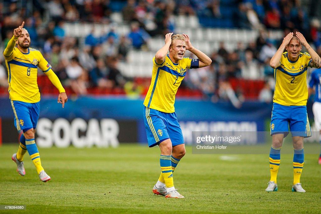 Italy v Sweden - UEFA Under21 European Championship 2015