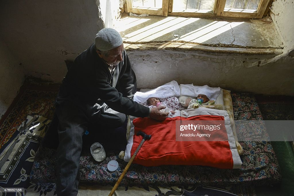Turkish man who became a father at the age of 85 : News Photo