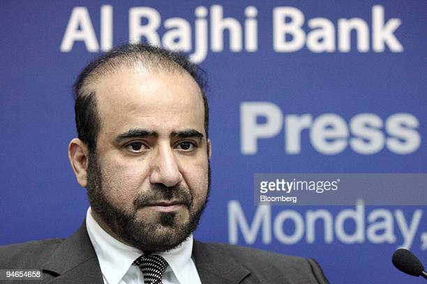 Abdullah Sulaiman chairman of Al Rajhi Bank Malaysia listens at a news conference during the opening of the bank in Kuala Lumpur Malaysia on Monday...