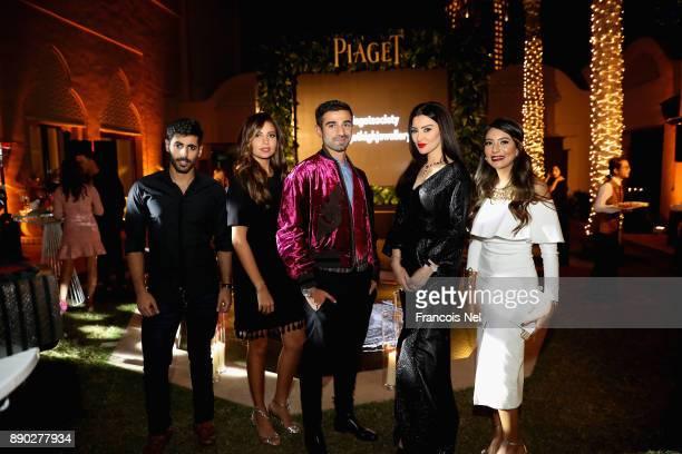 Abdulrahman Al Bader Sara Murad Abdullah Al Kaabi Mayssa Maghrebi Sawsan Saad attend Piaget celebrates Abdullah Al Kaabi's talent by hosting a...