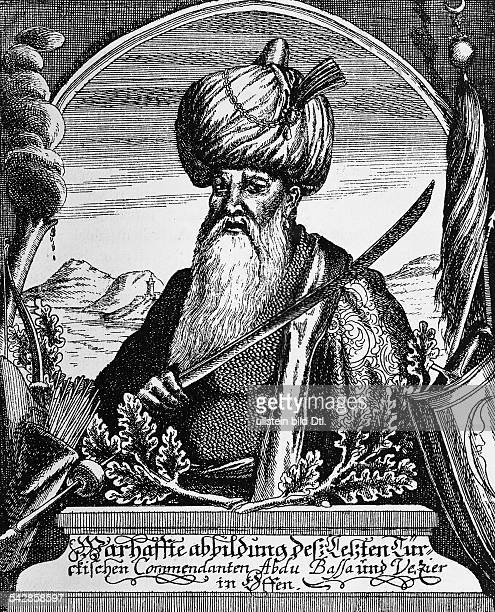 Abdurrahman Abdi Pasha Ottoman politician and military leader of Albanian descent the governor of Turkishoccupied Hungary in 1684 portrait contemp...