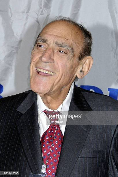 Abe Vigoda attends the Friars roast of Matt Lauer at the New York Hilton in New York NY on October 24 2008 Lauer is host of NBC's Today Show