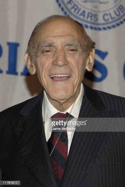 Abe Vigoda during The Friars Club Roast of Don King at The New York Hilton in New York City, New York, United States.