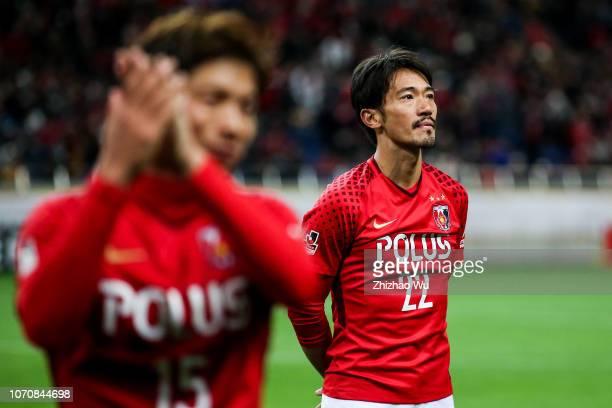 Abe Yuki of Urawa Red Diamonds in action after the 98th Emperor's Cup Final between Urawa Red Diamonds and Vegalta Sendai at Saitama Stadium on...