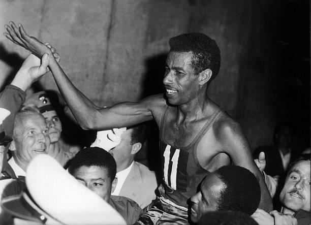ITA: 10th September 1960 - Ethiopian Abebe Bikila Wins Marathon In Rome, Barefoot