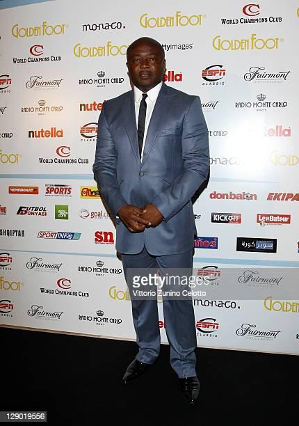 Abedi Pele attend the Golden Foot Ceremony Awards on October 10 2011 in Monaco Monaco